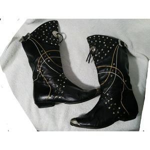 RARE Alvaro Carpena western style boots sz 6-6 1/2